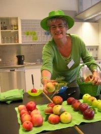 FruGrøn med æbler